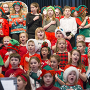 Rocanville School performed Welcome to Elflandia for their Christmas concert on Tuesday, December 18, 2018