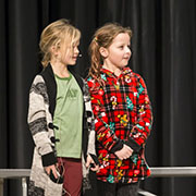 "MacLeod School held its Christmas concert ""Elflandia"" on Wednesday, December 19, in which a group of elves question whether or not humas are actually real. The concert was held at the Conexus Convention Centre."