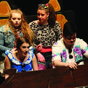 McNaughton senior drama students performed the comedy Skid Marks: A Play About Driving last week. The vignette play explores the relationship between teens and their cars.