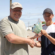 Moosomin Chamber of Commerce Ping Pong Ball Drop held on July 6, 2019