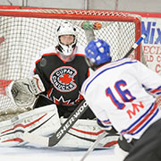 Midget B Provincial South Semi-Final - Moosomin Rangers vs. Cupar. Sunday, March 4, 2018