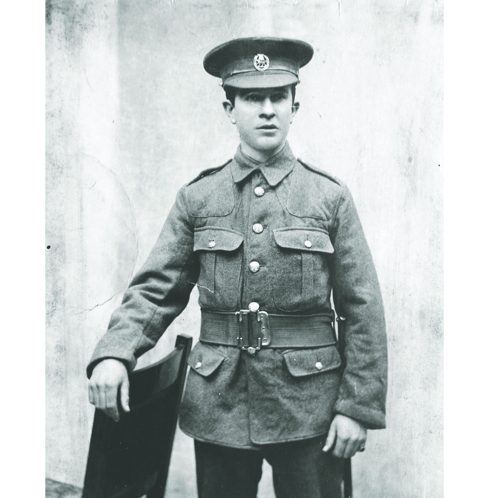 <b>John Robert Osborn</b>, who farmed near Wapella, was awarded the Victoria Cross posthumously for sacrificing his life to save his comrades.