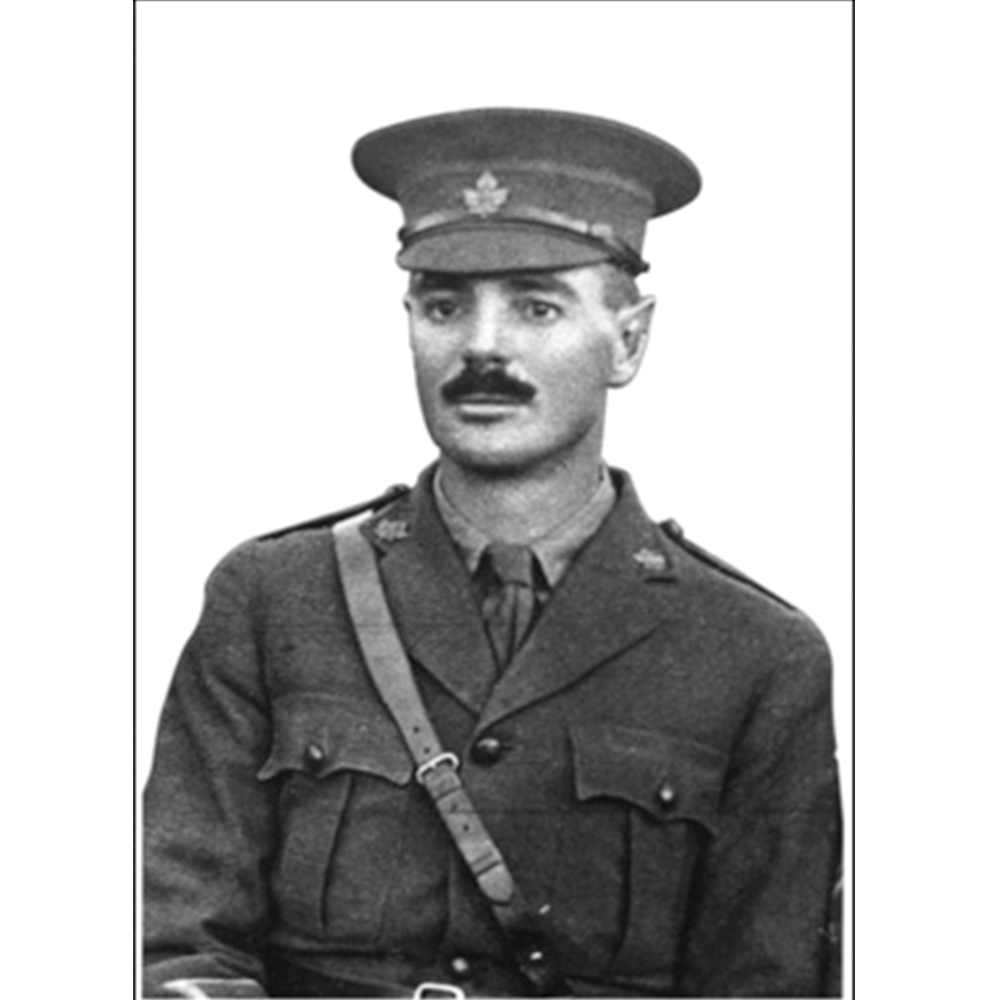 <b>Lieutenant Robert Grierson Combe</b>, who owned a store in Moosomin before the First World War, was awarded his Victoria Cross posthumously.
