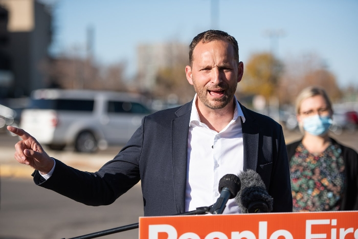 NDP Leader Ryan Meili.
