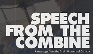 Grain Growers disappointed in Throne Speech